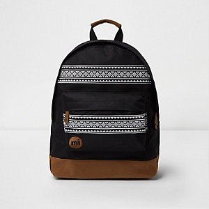 Black Mi-Pac nordic backpack