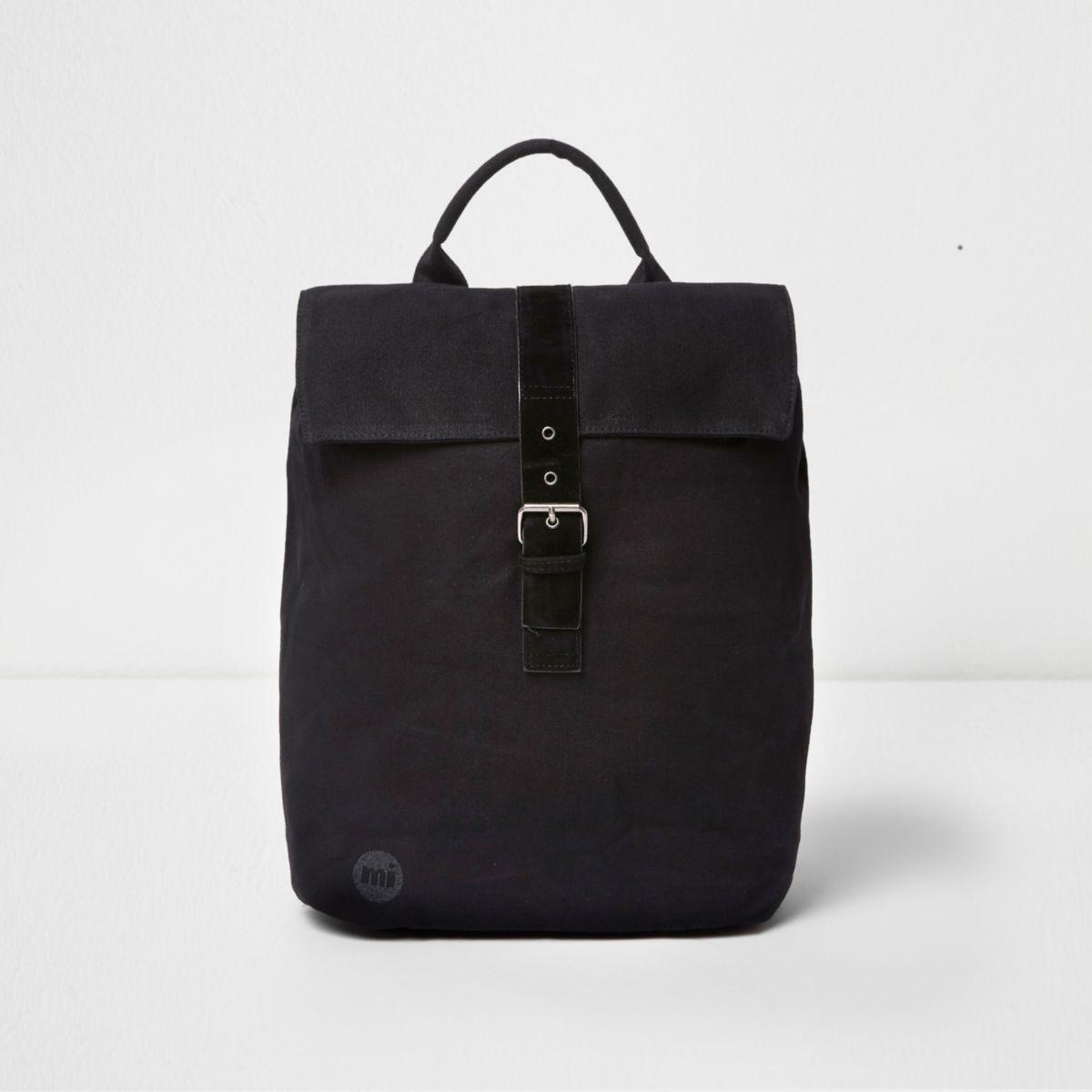 Black Mi-Pac flap top backpack