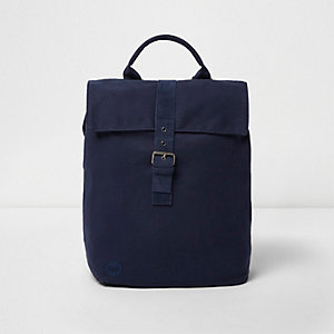 Navy Mi-Pac flap top backpack