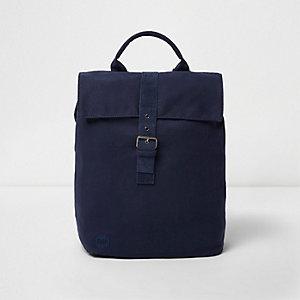Navy Mi-Pac flap top backpack