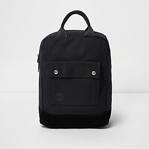 Black Mi-Pac pocket front tote backpack