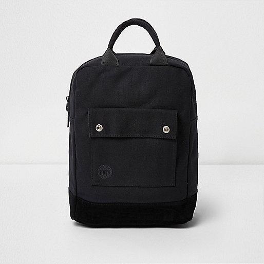 Black Mi-Pac pocket front tote backpack