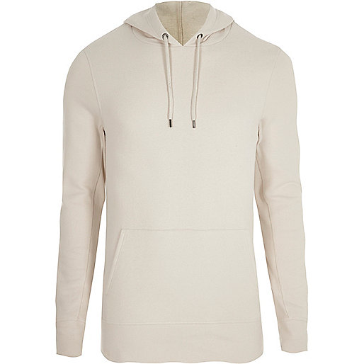 Stone muscle fit hoodie
