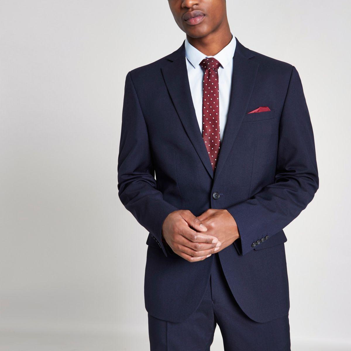 Taillierte Skinny Fit Anzugjacke
