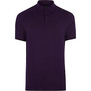 Polo slim violet