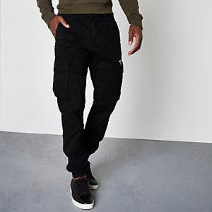Pantalon de jogging cargo noir