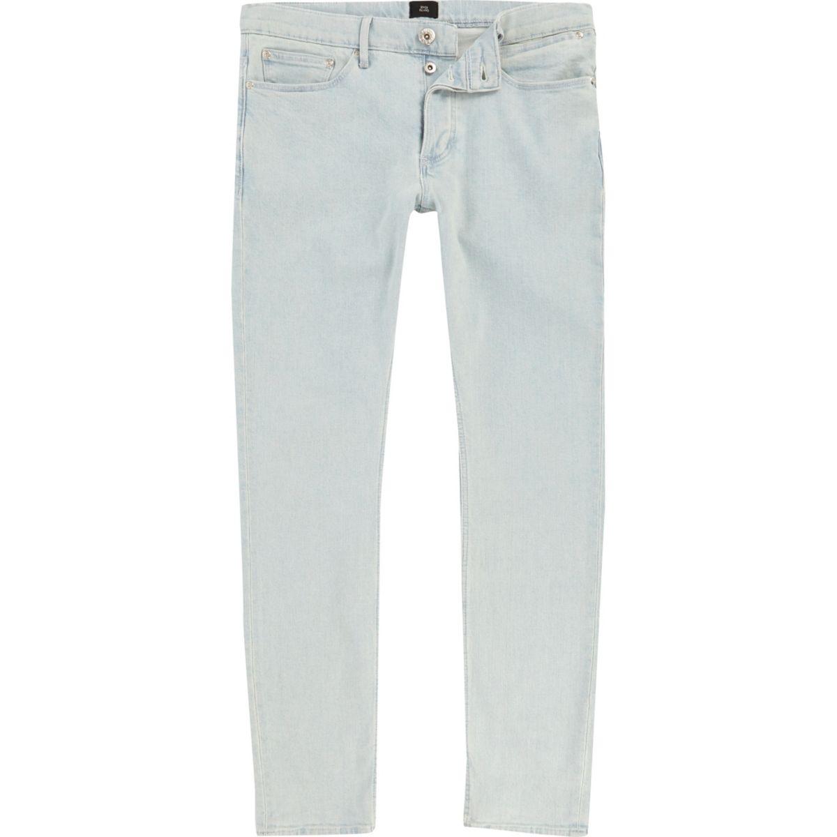 Light blue Sid skinny jeans