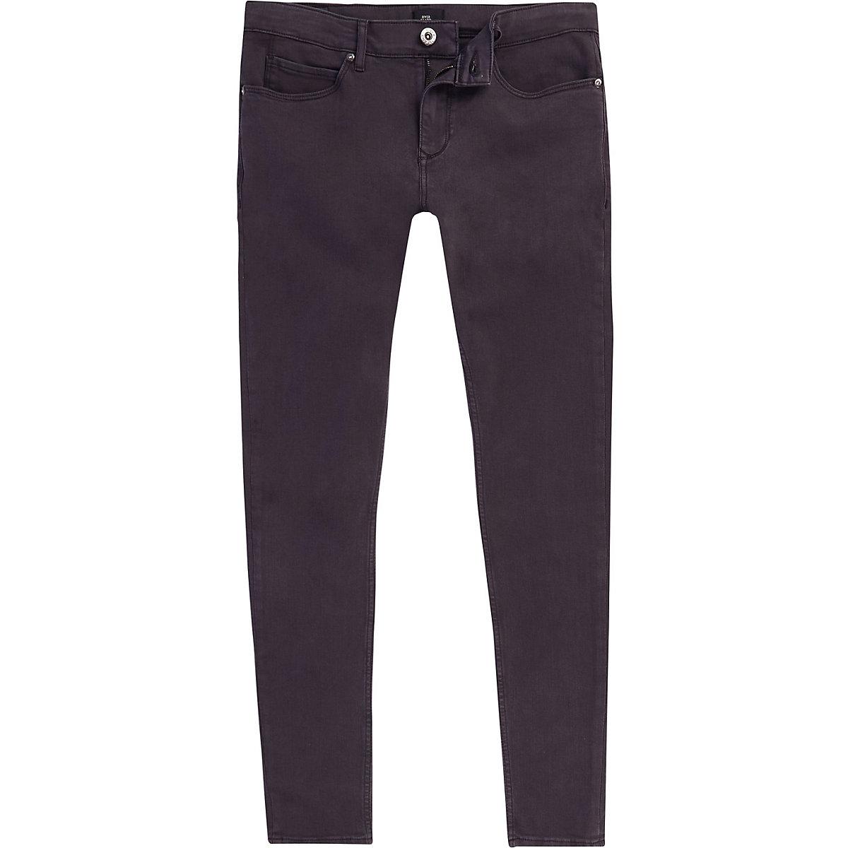 Grey Ollie super skinny spray on jeans