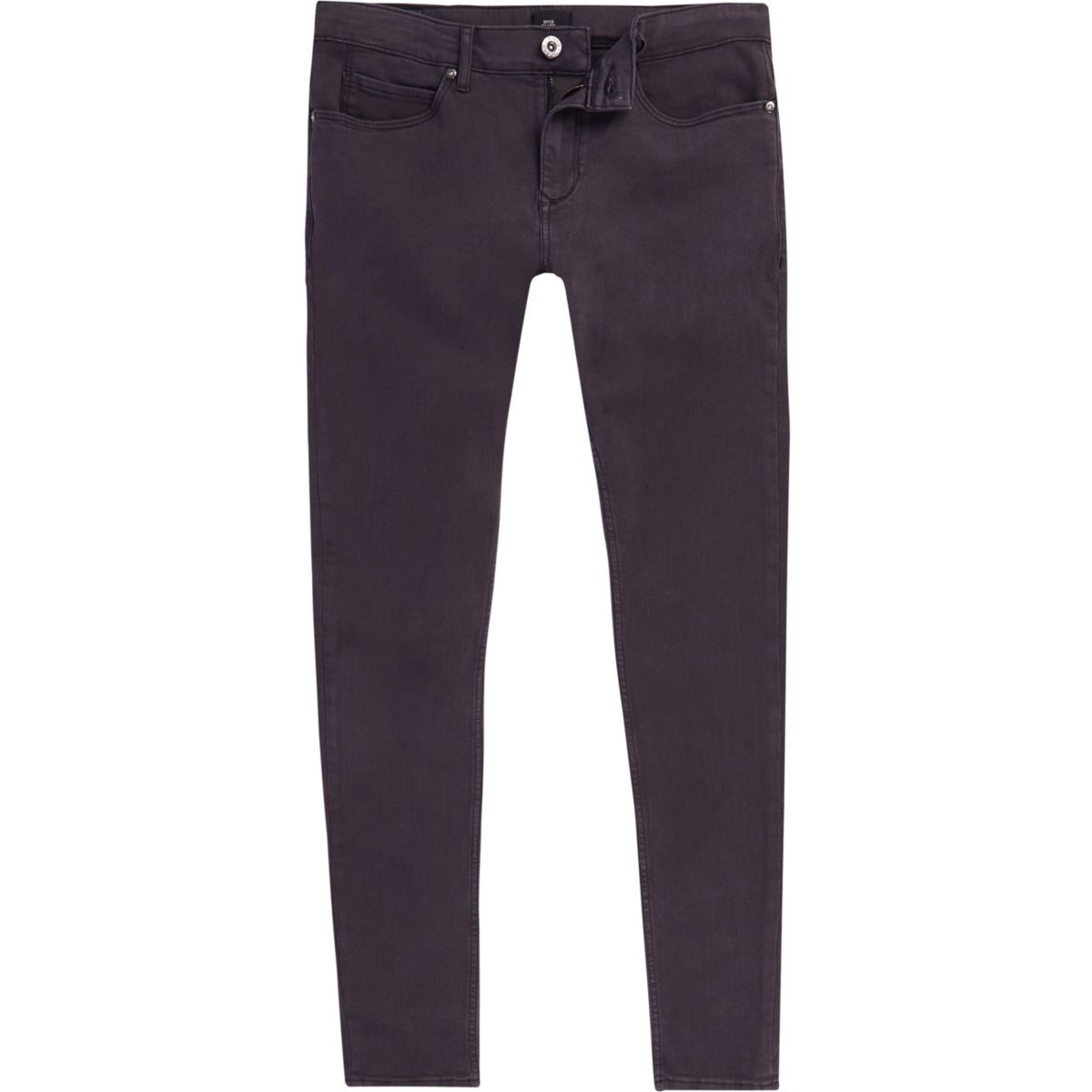 Grey Ollie super skinny spray on jeans