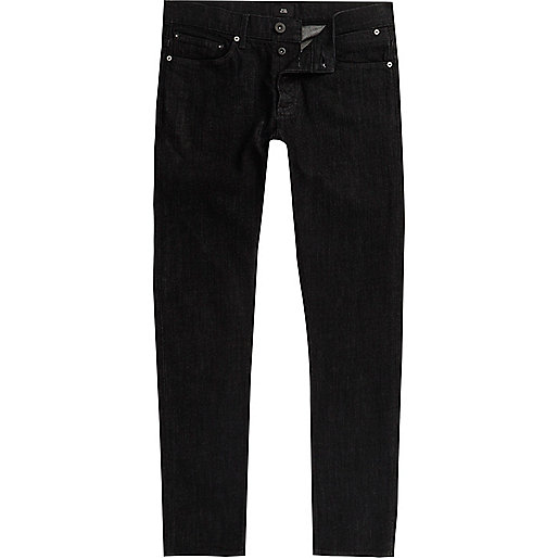 Washed black Sid skinny jeans