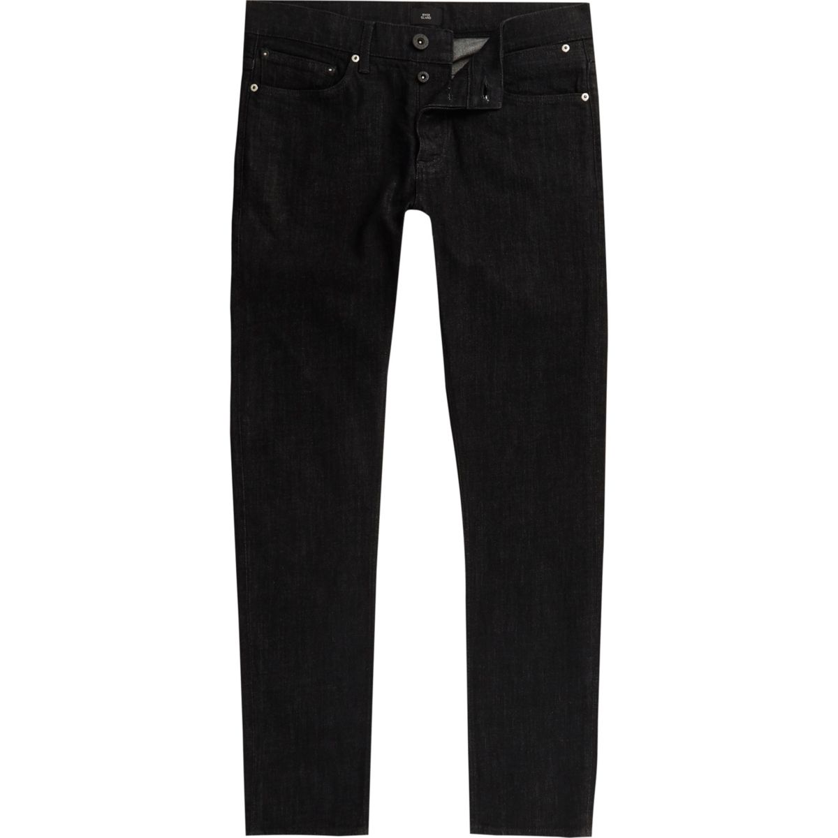 Washed black Sid skinny jeans