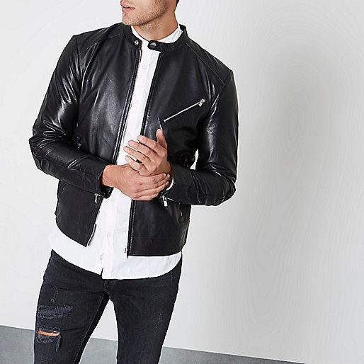 Black Jack & Jones Premium leather jacket