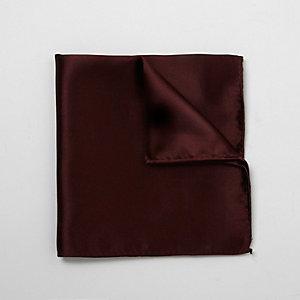 Mouchoir de poche bordeaux