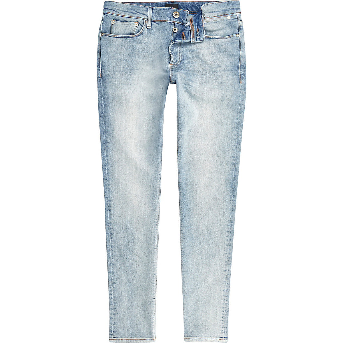 Light blue Sid skinny jeans