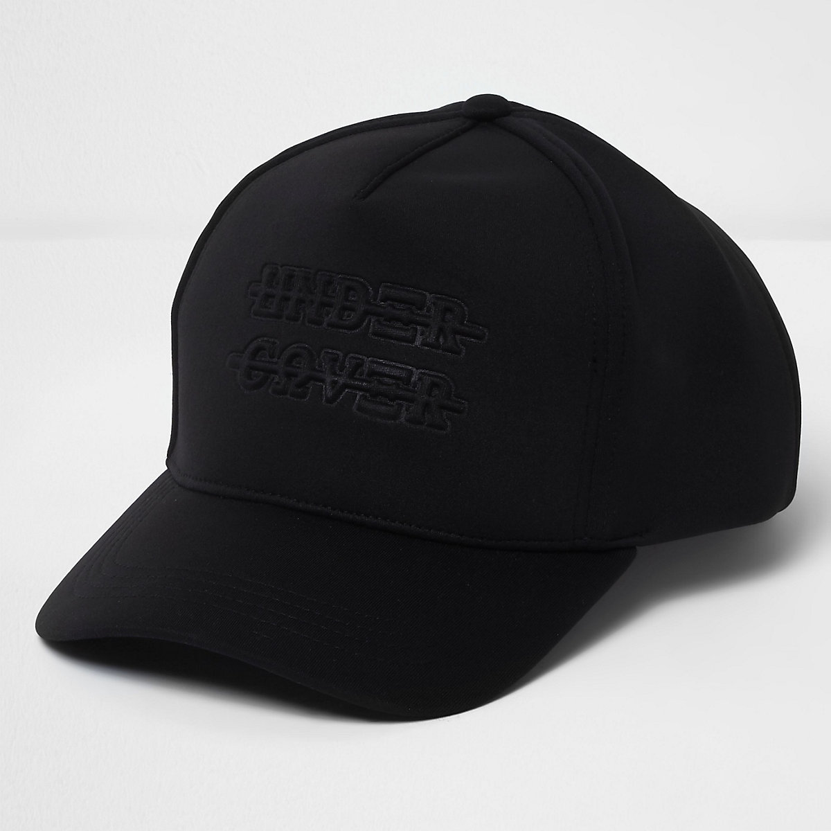 Black 'under cover' scuba baseball cap