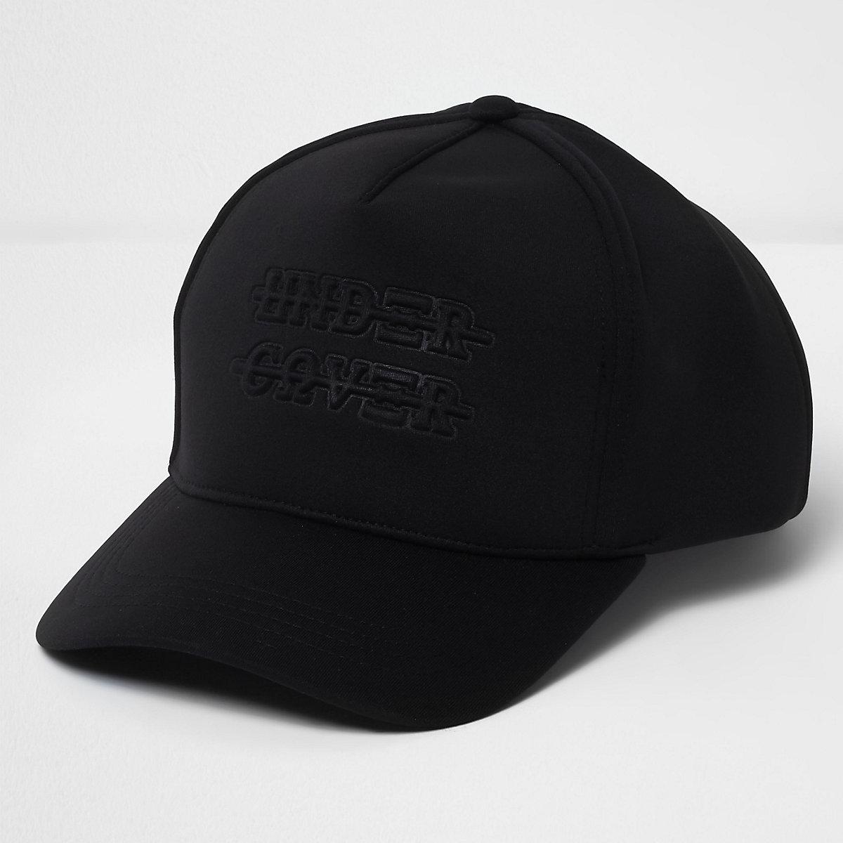 Black 'under cover' scuba baseball cap