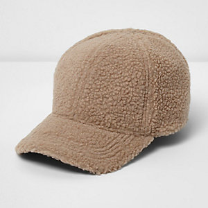 Stone teddy baseball cap