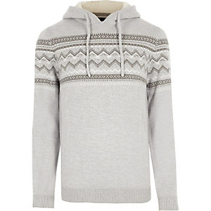 Light grey Farisile knit jumper