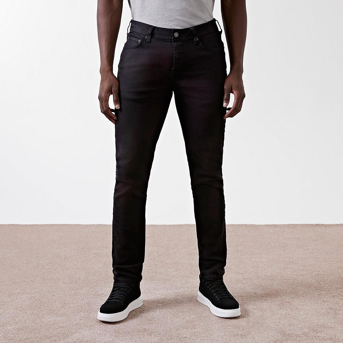 Black slim fit Dylan jeans