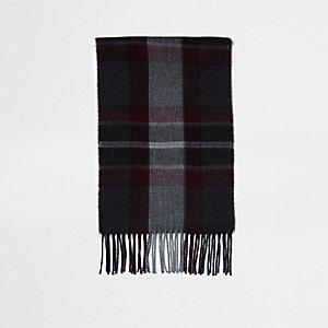 Rode geruite sjaal