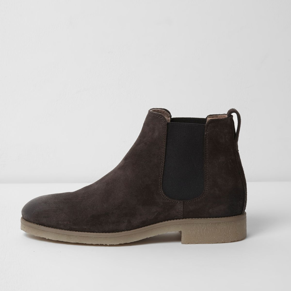 brown suede chelsea boots boots shoes boots