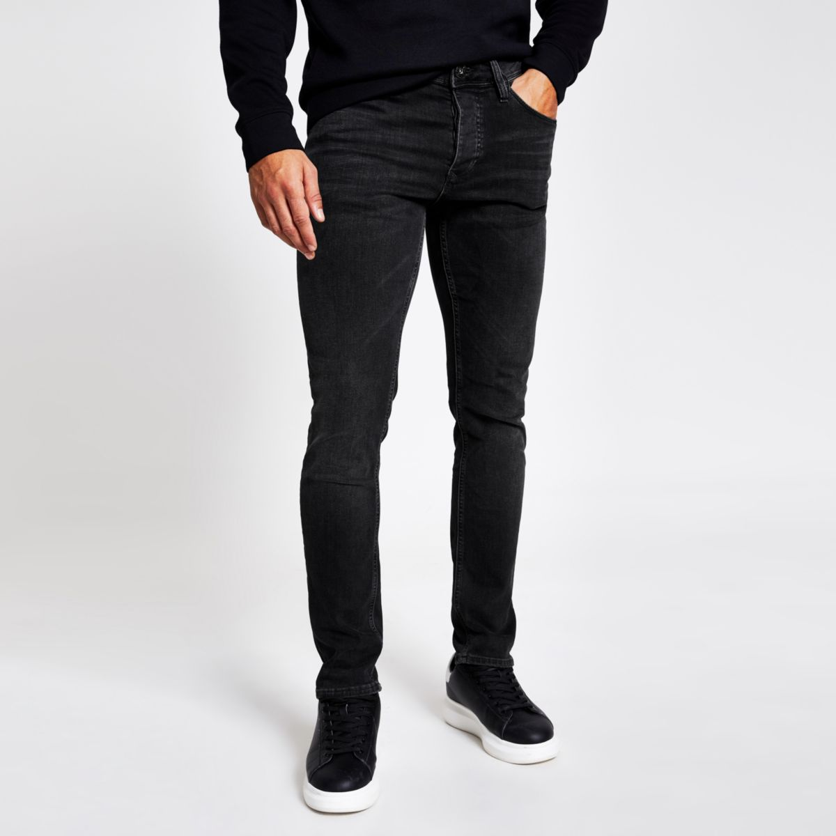 Black fade detail Dylan slim fit jeans