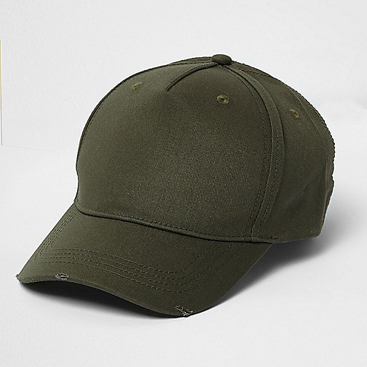 Khaki green baseball cap