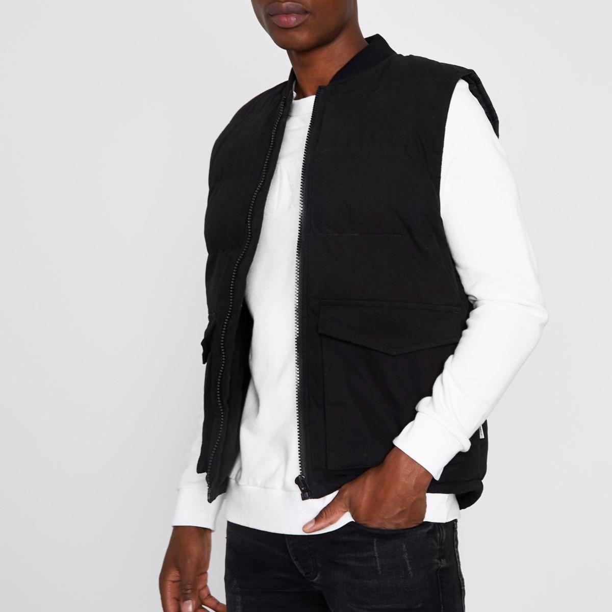 Black Bellfield padded jacket