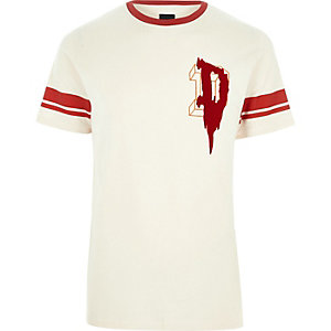 "Steingraues T-Shirt ""D"""