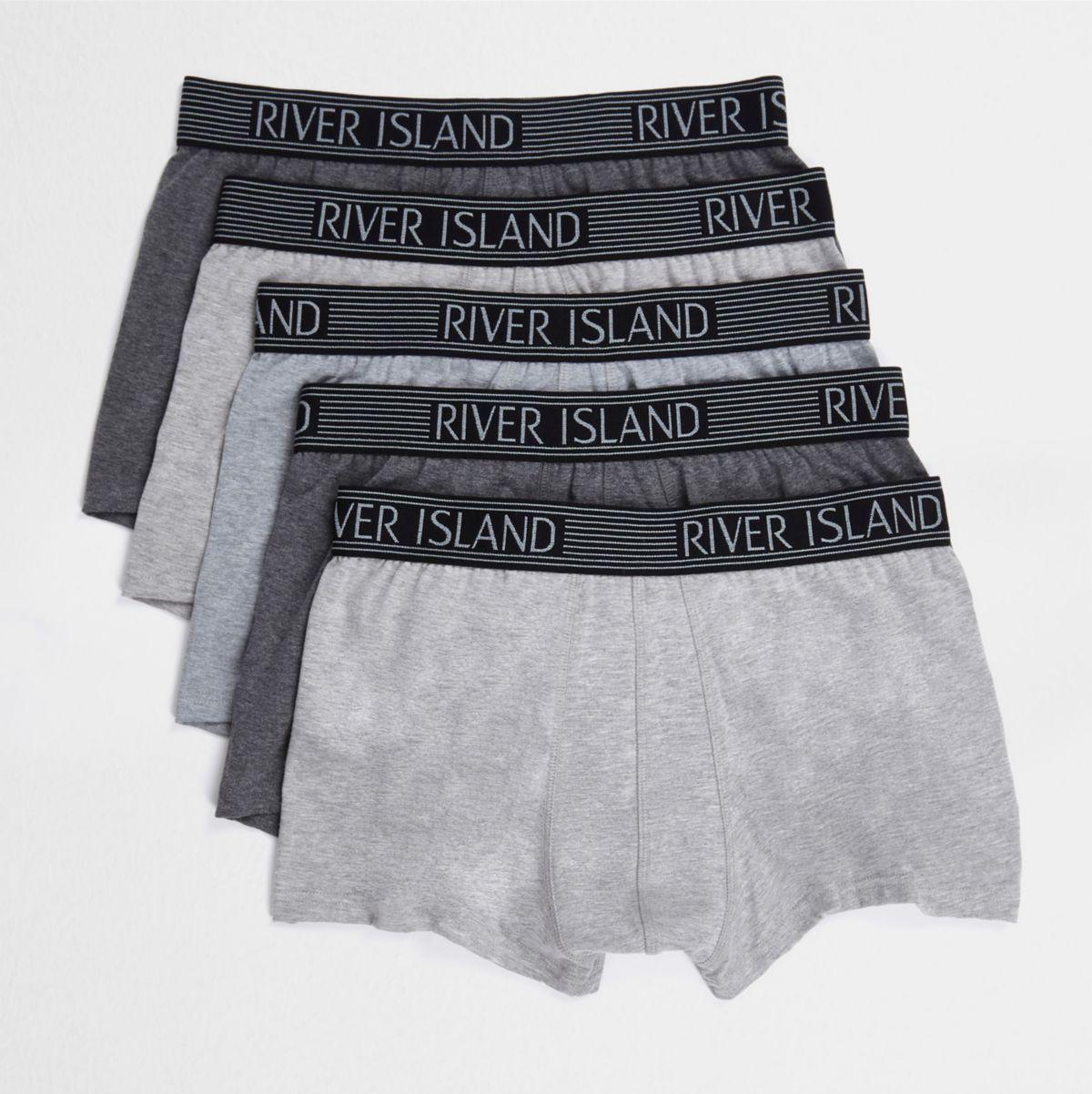 Grey metallic hipster multipack