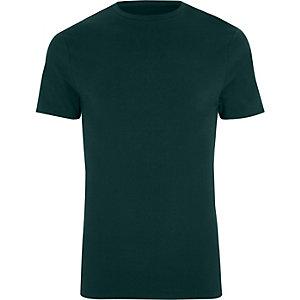 Big & Tall – T-shirt vert foncé