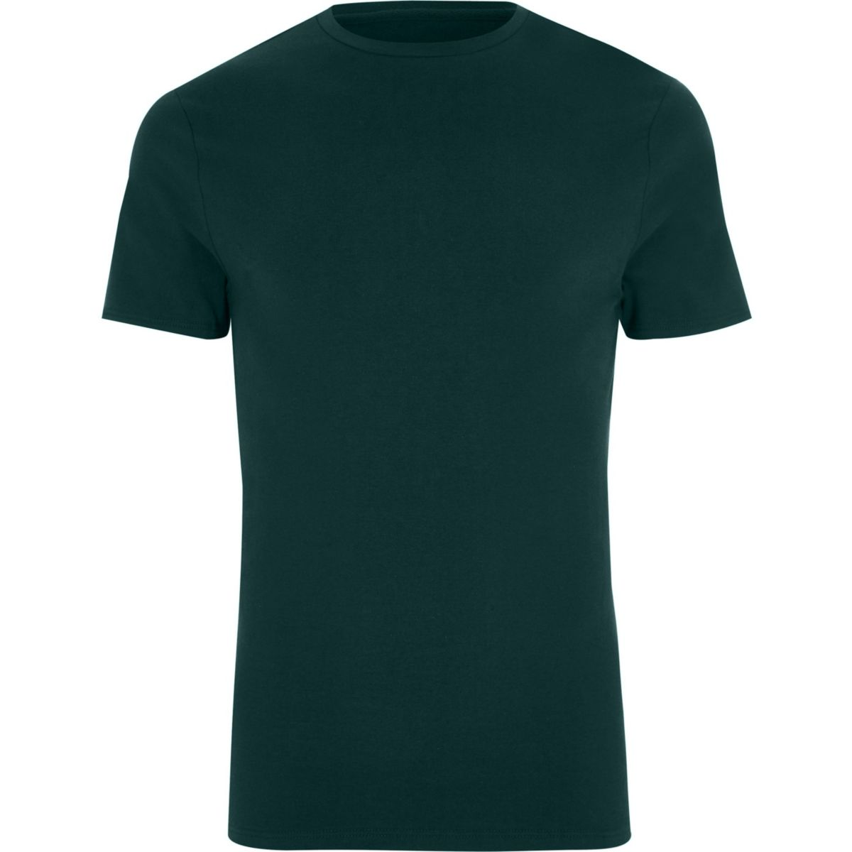 Big and Tall dark green T-shirt