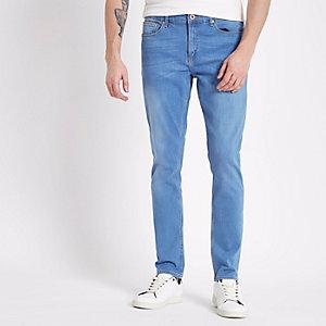 Sid - Blauwe skinny jeans