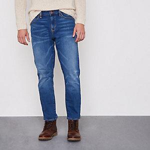 Dylan - Middenblauwe slim-fit jeans