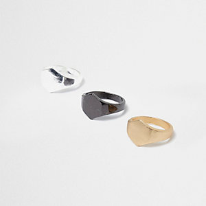 Metal hexagon ring multipack