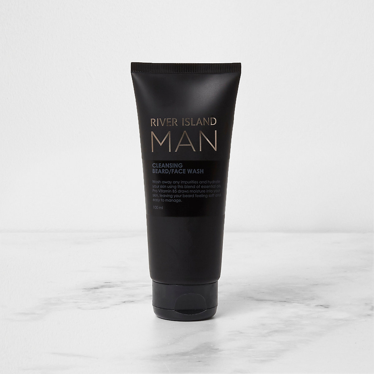River Island Man beard and face wash