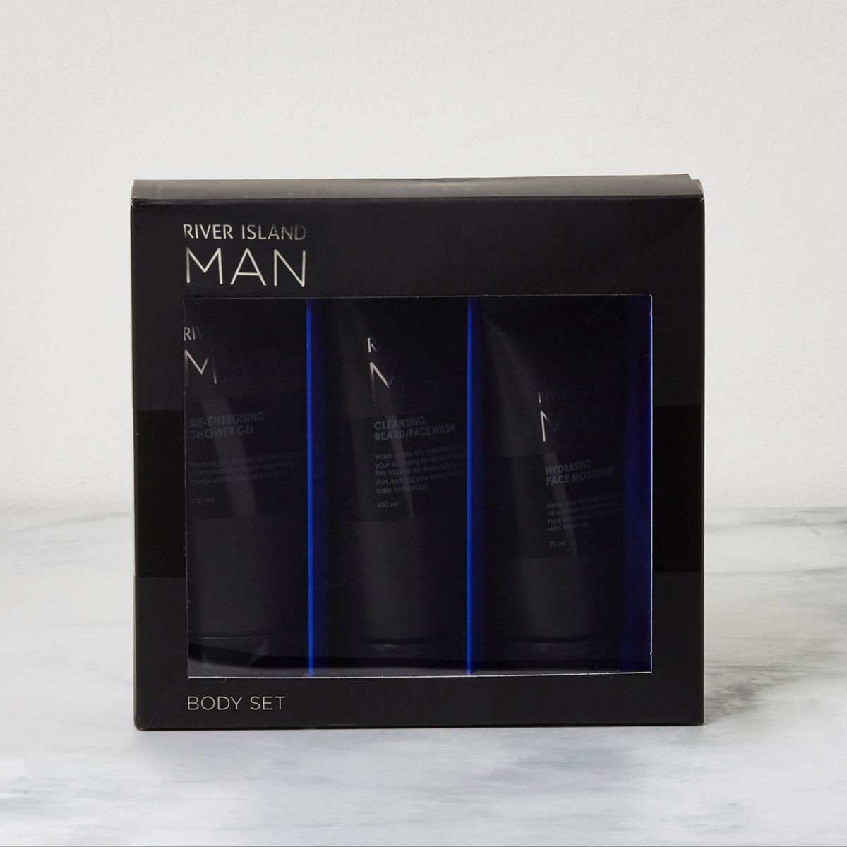 RI Man - zwarte bodyset