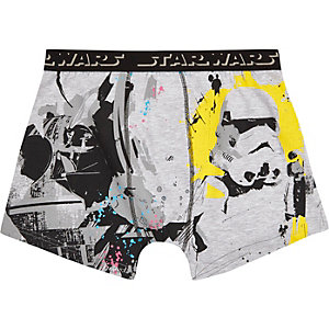 Grey Star Wars trunks