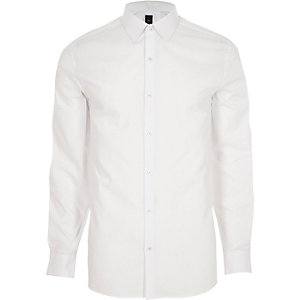 White long sleeve smart shirt