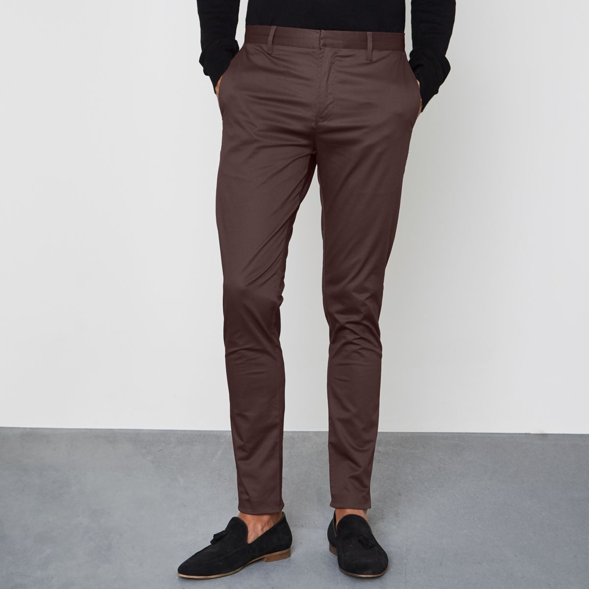Mens Pants at Macy's come in all styles and sizes. Shop Men's Pants: Dress Pants, Chinos, Khakis, pants and more at Macy's! Macy's Presents: The Edit- A curated mix of fashion and inspiration Check It Out. Calvin Klein Men's Sateen Slim-Fit Stretch Pants.
