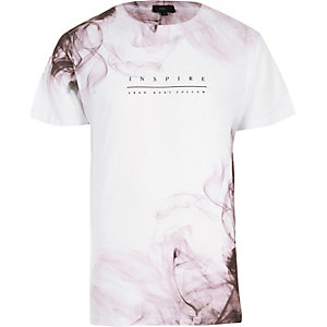 "Weißes T-Shirt ""Inspire"""