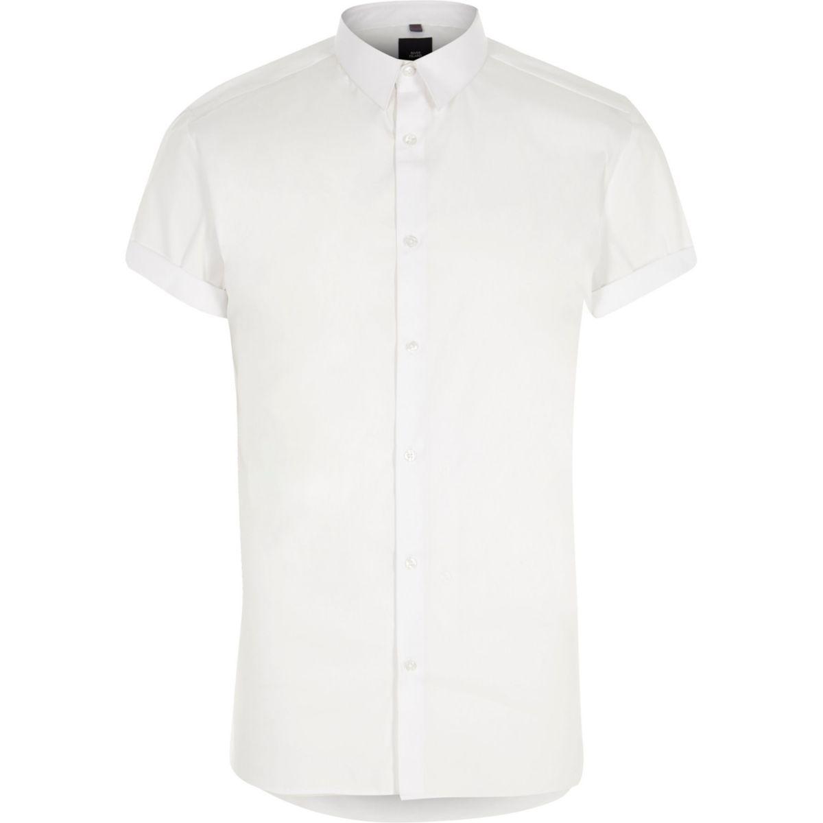 shirt and Big sleeve short white Tall XAw4wqHU