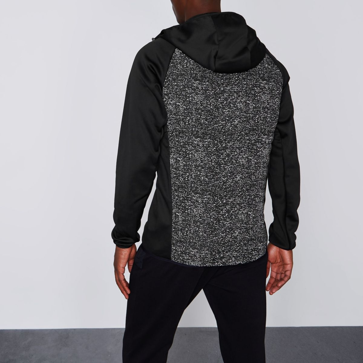 black Jack amp; scuba Core hoodie Jones sleeve wwZ16