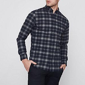 Grijs Jack & Jones Premium overhemd met ruiten