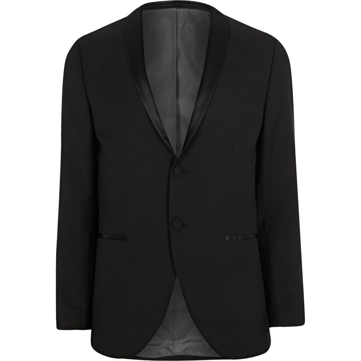 Jack & Jones Premium black tux blazer