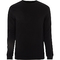 Black Only & Sons printed jumper