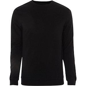 Only & Sons - Zwarte pullover met print