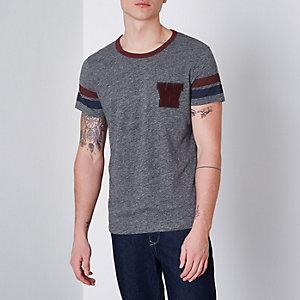 Wrangler - Grijs T-shirt met korte mouwen