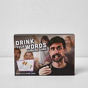 Jeux à boire - Drink Your Words