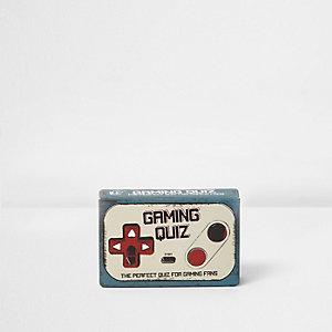 Gaming quiz – Jeu de carte avec questions